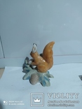 Статуэтка Белка с грибом, фото №3