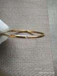 Браслет кольцо с камушками, фото №3