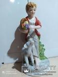 Статуэтка Девочка с барашком, фото №2