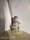 Статуэтка Девочка с курицей, фото №2