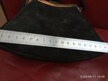 Старинная сумочка черный бархат, фото №7
