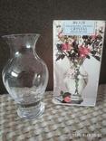 Миниатюрная вазочка хрусталь, фото №2