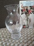 Миниатюрная вазочка хрусталь, фото №3