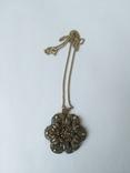 Серебреная подвеска с цепочкой 18г. 925пр., фото №5