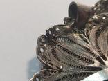 Серебреная подвеска с цепочкой 18г. 925пр., фото №9