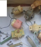 Множество запчастей к теле, радио и др. аппаратуре, фото №6