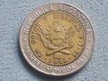 Аргентина 1 песо 1996 года, фото №3