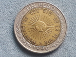 Аргентина 1 песо 1996 года, фото №2