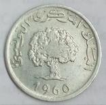 5 миллимов 1960 г. Тунис, фото №2