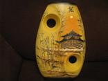 Декоративная ваза для икебаны - высота 30 см., фото №2