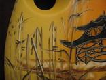 Декоративная ваза для икебаны - высота 30 см., фото №4