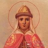 Икона Святые Ольга и Владимир, фото №7