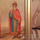 Икона Святые Ольга и Владимир, фото №10