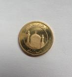 Иран азади 1374/1995  год золото 900`, фото №2