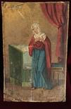 Икона на жести Дева Мария, фото №2