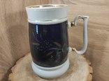 Кружка 2 литра,кобальт, золочение.СССР., фото №8