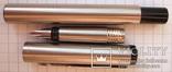 Новая перьевая ручка Parker Vector Flighter, made in USA. Перо F. Оригинал. Пишет мягко, фото №4