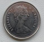 10 центов 1980 год Канада, фото №3