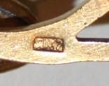 Янтарная запонка СССР,некомплект (Калининградский янтарь,ЯК7) 3,2 грамма, фото №7
