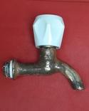 Кран латунный водяной, 3 шт, СССР, фото №9