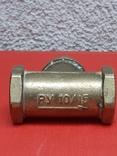 Кран латунный водяной, 3 шт, СССР, фото №13