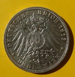 3 марки, Саксония, 1913 год., фото №3