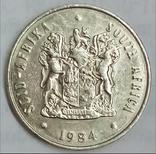 20 центов 1984 г. ЮАР, фото №3