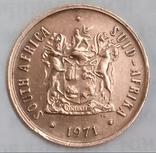 2 цента 1971 г. ЮАР, фото №3