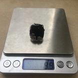 Серебрянный гарнитур с ониксом, фото №3
