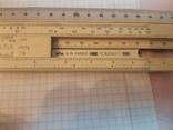 A.W.  FABER CASTECC  --Логарифмическая линейка, фото №12