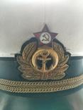Фуражка ВМФ белая 1, фото №6