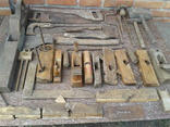 Набір старих столярних інструментів., фото №2