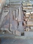 Набір старих столярних інструментів., фото №4