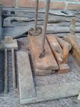 Набір старих столярних інструментів., фото №6