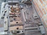 Набір старих столярних інструментів., фото №9