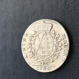 Талер 1780 р. Саксонія, фото №5