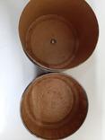Коробок от ниток, до 1917 г. Невской ниточной мануфактуры., фото №5