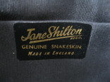 Клатч Jane Shilton.кожа змеи., фото №7