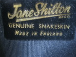 Клатч Jane Shilton.кожа змеи., фото №12