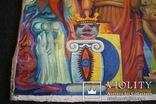 Абстракция 1984г. 140х130, фото №3