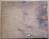 """Гравюра на дереві """"Зустріч"""", Н35,7х43,7 см, фото №10"""