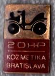 """Значок """"Чешская автокосметика"""" (Чехословакия) тяжелый, фото №2"""