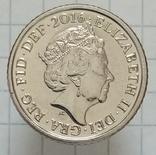 5 пенсов 2016г Великобритания, фото №2