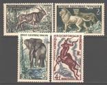 Франц. Экваториальная Африка. 1957. Фауна **., фото №2