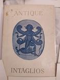 Набор открыток античные инталии, фото №6