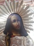 Икона Хлебный Спас 1861год   (84), фото №4