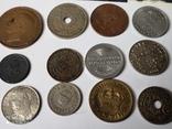 12 старых  довоенных монет Европы, фото №2