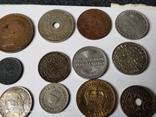 12 старых  довоенных монет Европы, фото №4