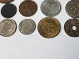 12 старых  довоенных монет Европы, фото №5