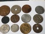 12 старых  довоенных монет Европы, фото №8